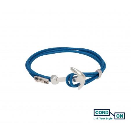 Pulsera marinera ancla azul Alitalia Pacific