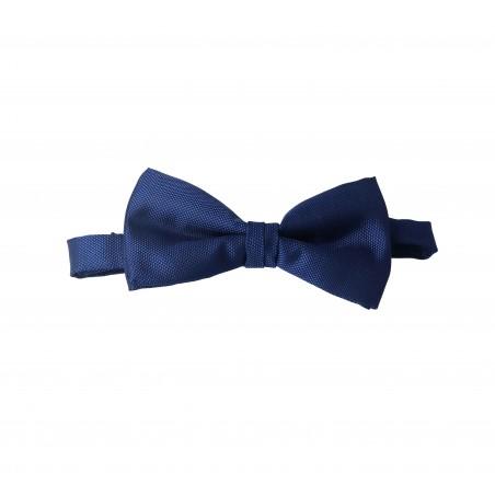 pajarita azul marino oxford