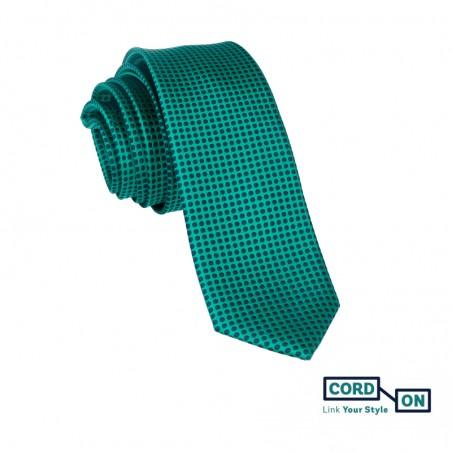 Corbata verde Boston