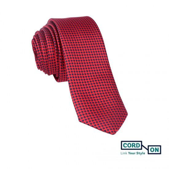 Corbata rojo Boston