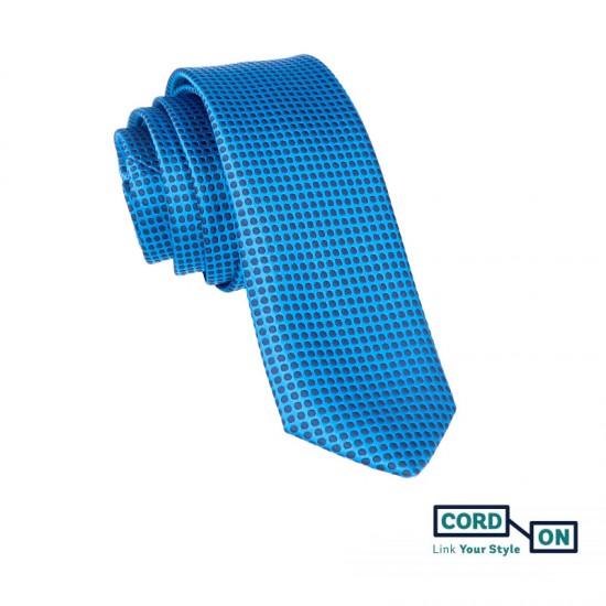 Corbata azul Boston
