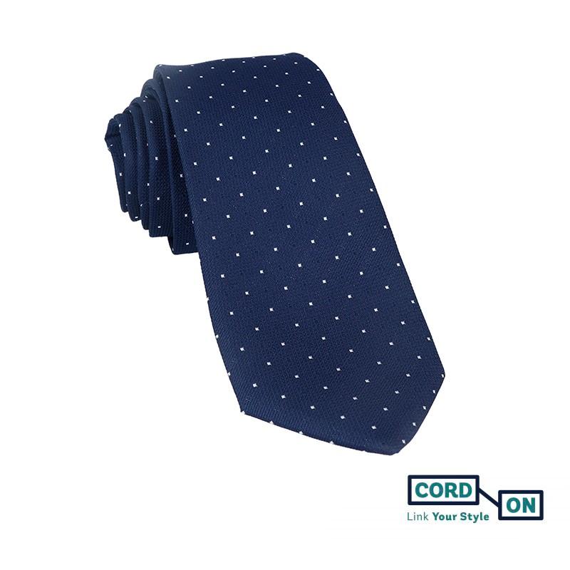 Corbata azul marino Cambridge