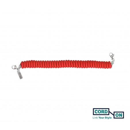 Salvaorejas elástico rojo Twist-Twist Chic