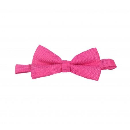 pajarita rosa fucsia oxford