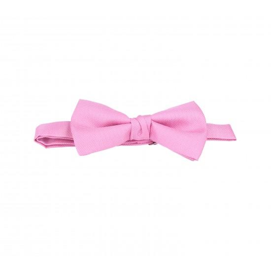 pajarita rosa claro oxford