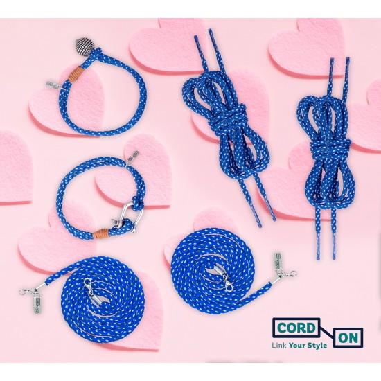 Set complementos pareja azul blanco Mood For Love