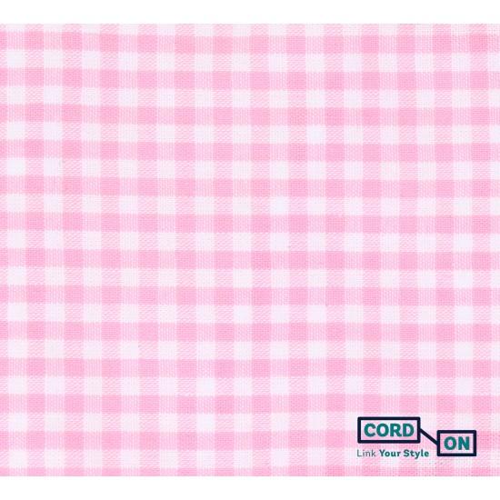 Mascarilla junior rosa blanco Pixelina