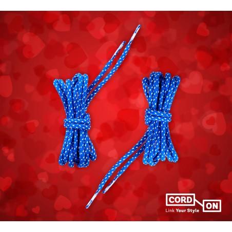 Set cordon affection azul blanco