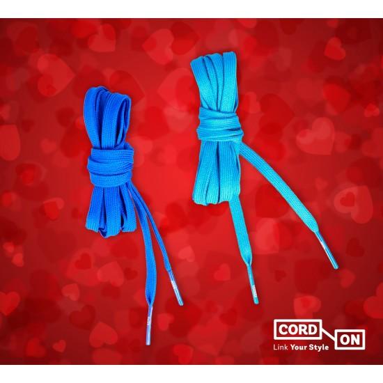 Set cordon inlove azul eléctrico cielo