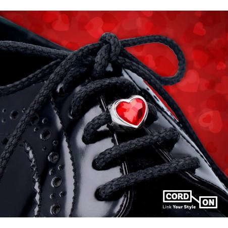 Set cordones rojo negro Cordon Me