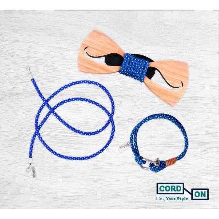 Set azul blanco Hipster Mood