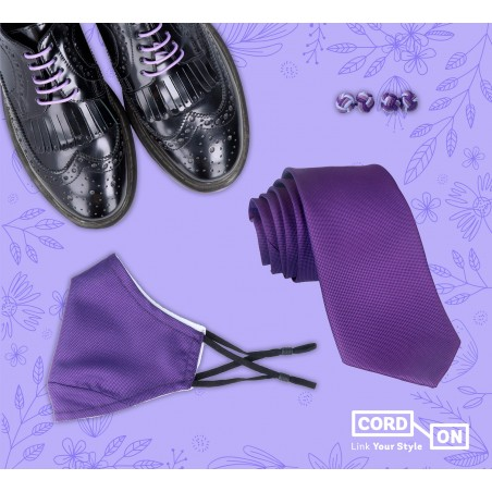 Set corbata cordón gemelos mascarilla Honouring Her