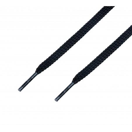 Cordón casual plano Negro