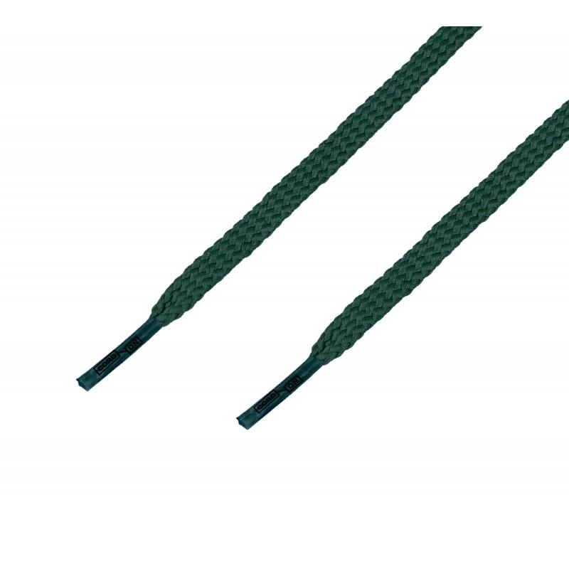 Cordón casual plano verde Musgo