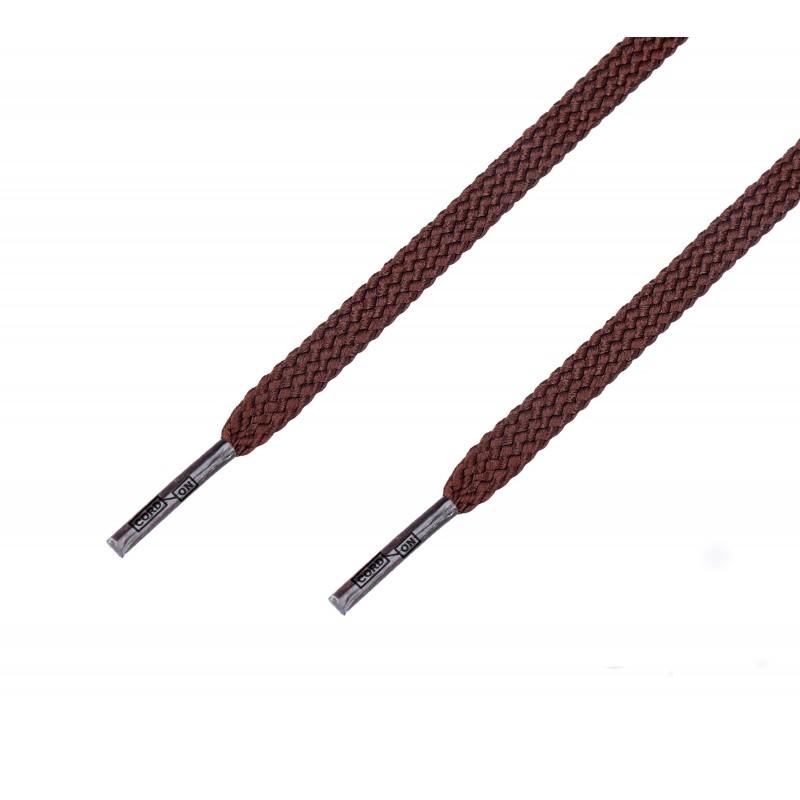 Cordón casual plano Marrón