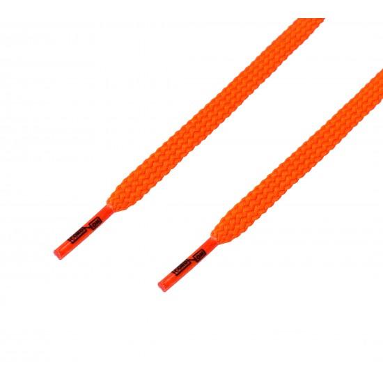 Cordón casual plano naranja Butano