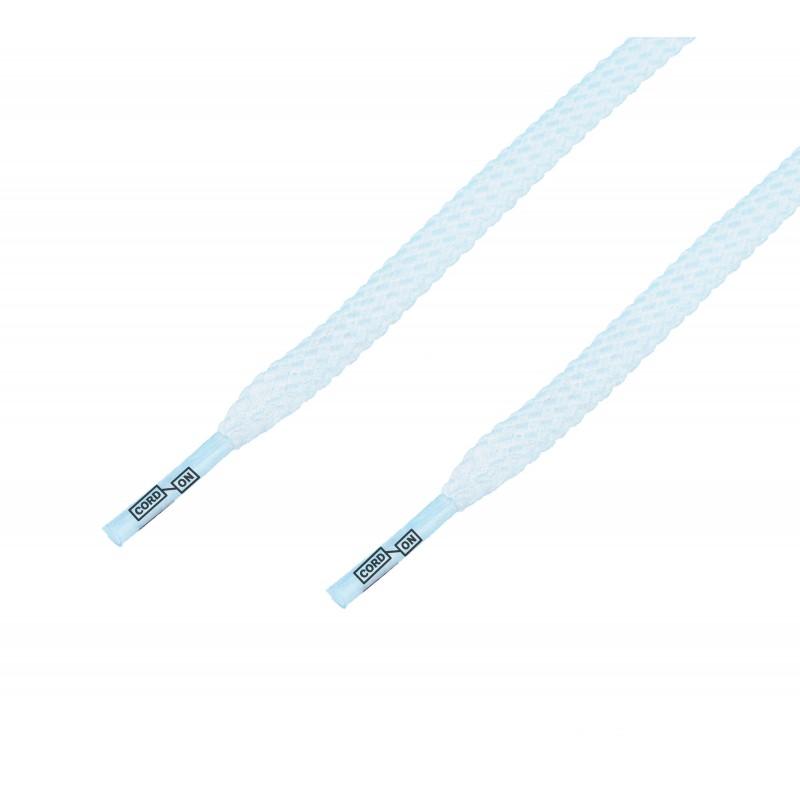 Cordón casual plano Blanco Óptico