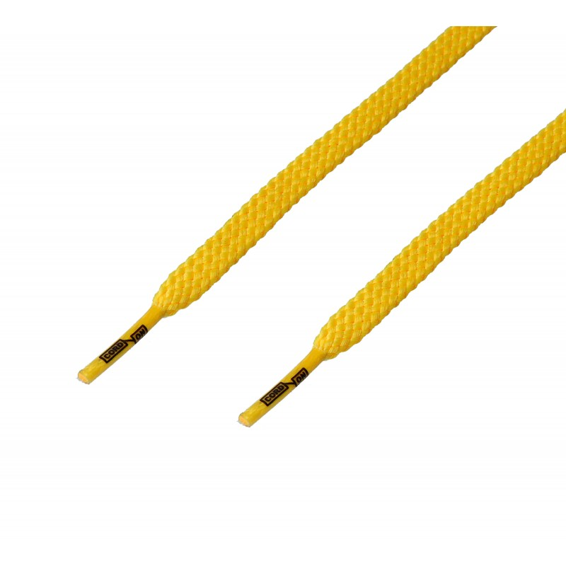 Cordón casual plano Amarillo