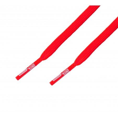 Cordón fino plano Rojo