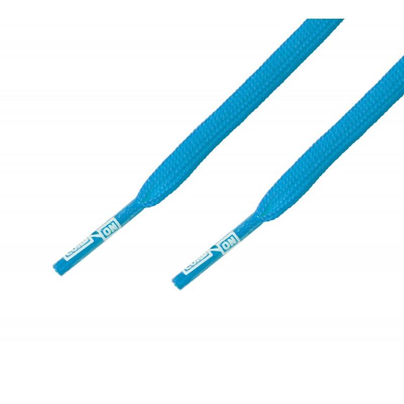 Cordón fino plano Azul Cielo