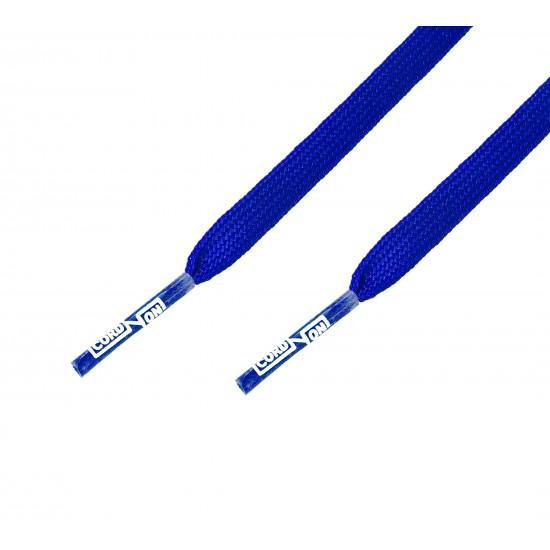 Cordón fino plano Azul Eléctrico