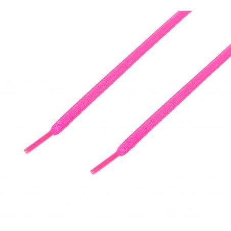 Cordón sport ovalado tubular Rosa