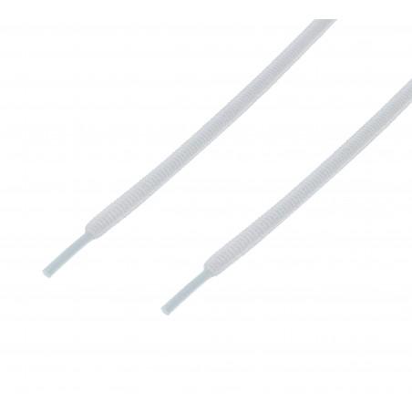 Cordón sport ovalado tubular Gris Plomo