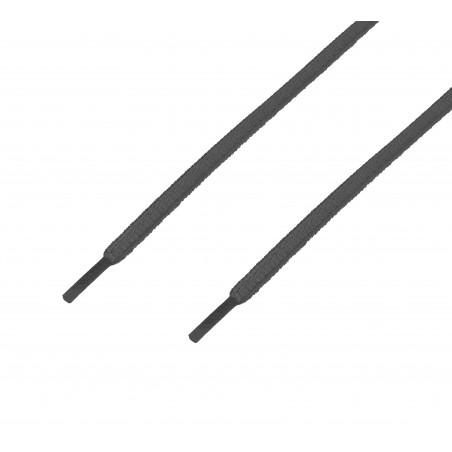 Cordón sport ovalado tubular Gris Delfín