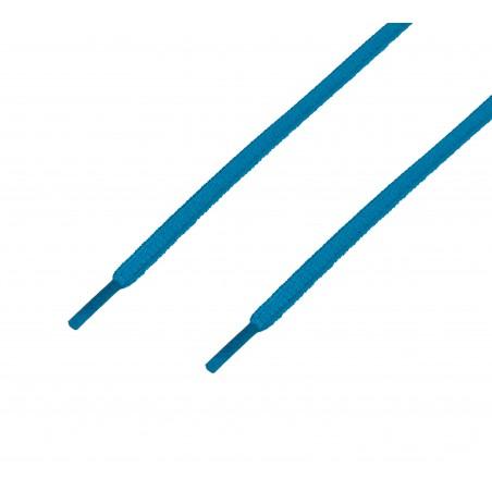 Cordón sport ovalado tubular Azul Cielo