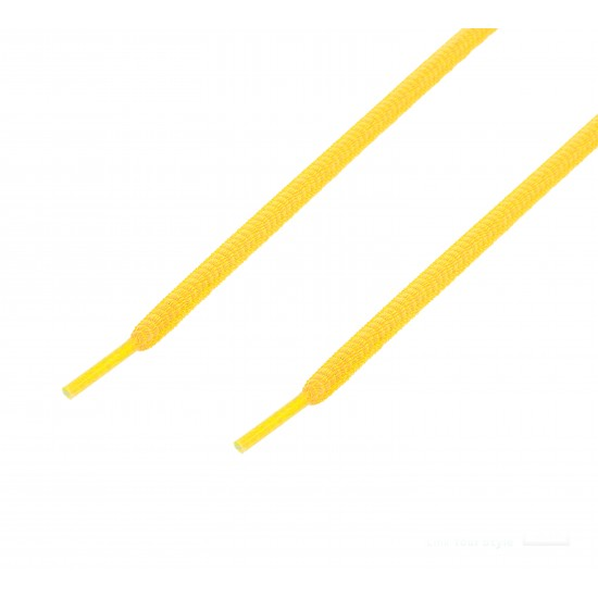 Cordón sport ovalado tubular Amarillo