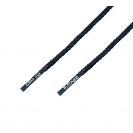 Cordón lustrado premium Negro
