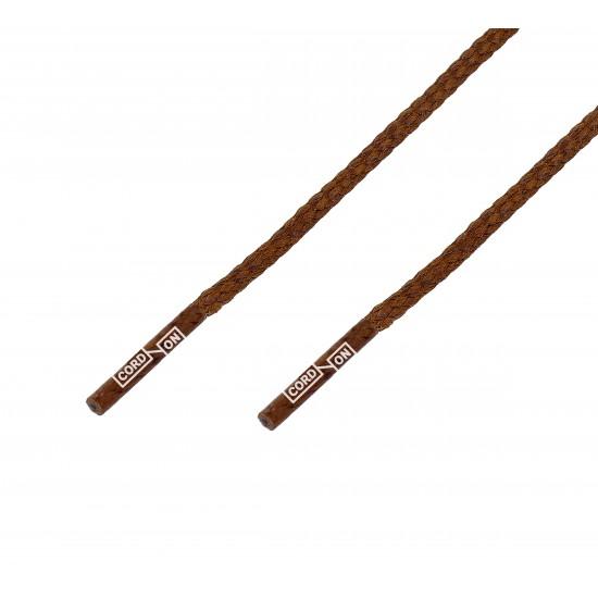 Cordón lustrado premium marrón Camello