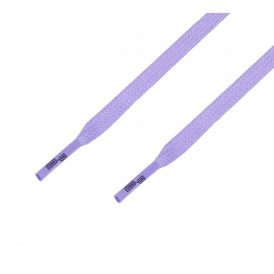 Cordón lustrado plano lila morado Amoratado