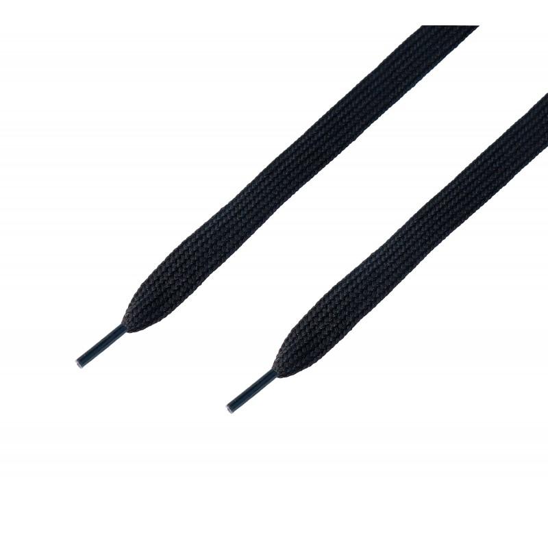 Cordón ancho plano Negro
