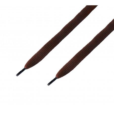 Cordón ancho plano Marrón