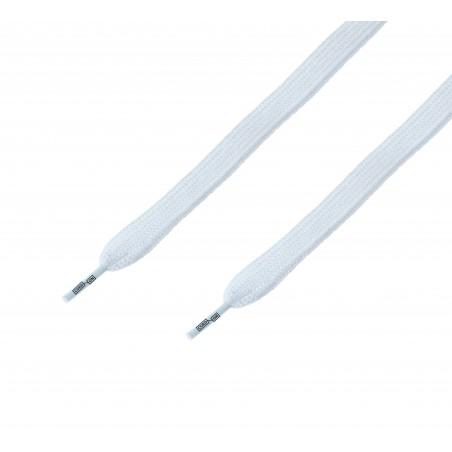 Cordón ancho plano Blanco Óptico