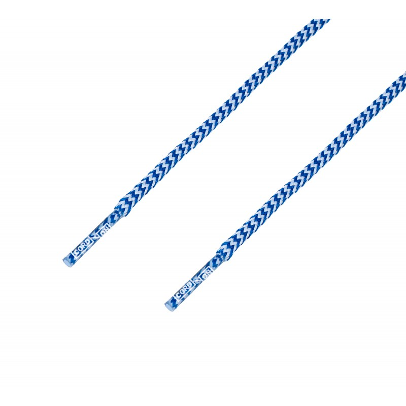 Cordón redondo cenefa azul blanco Way