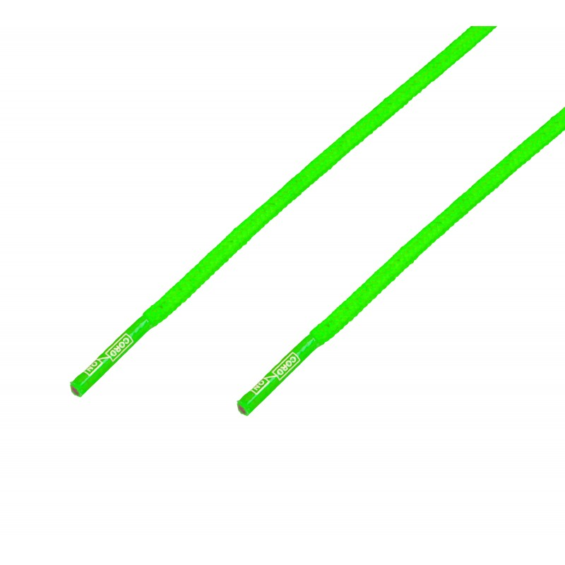 Cordón grueso redondo Verde  Flúor