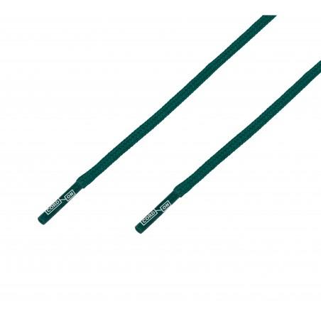 Cordón grueso redondo verde gris Grafito