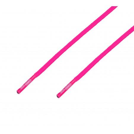 Cordón grueso redondo rosa Fucsia Flúor