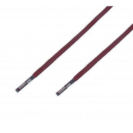 Cordón grueso redondo morado Burdeos