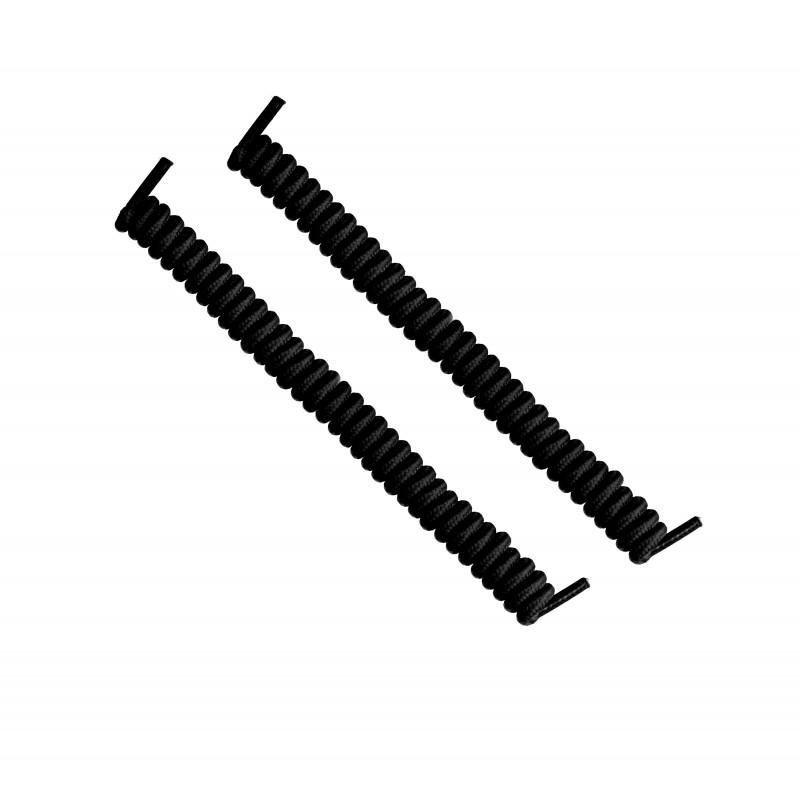 cordones elásticos calzado negro liaflex