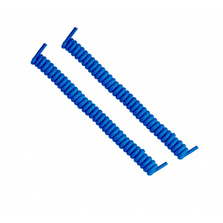 cordones elásticos calzado azul eléctrico liaflex