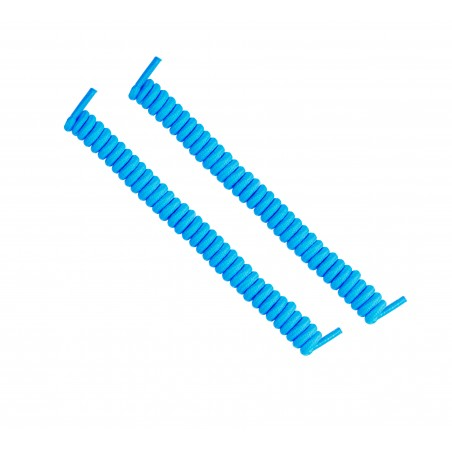 cordones elásticos calzado azul cielo liaflex