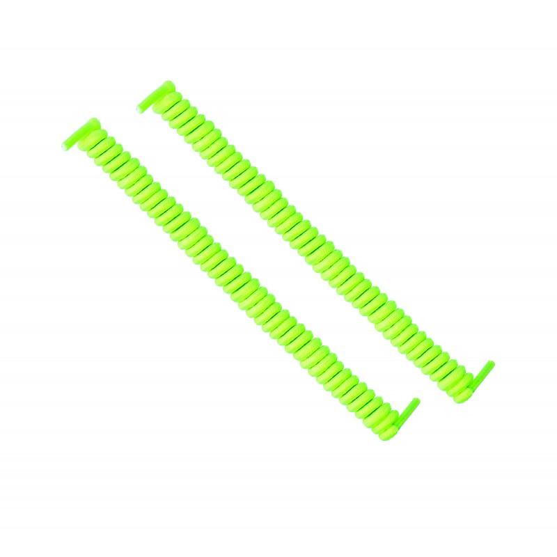 cordones elásticos calzado amarillo flúor liaflex