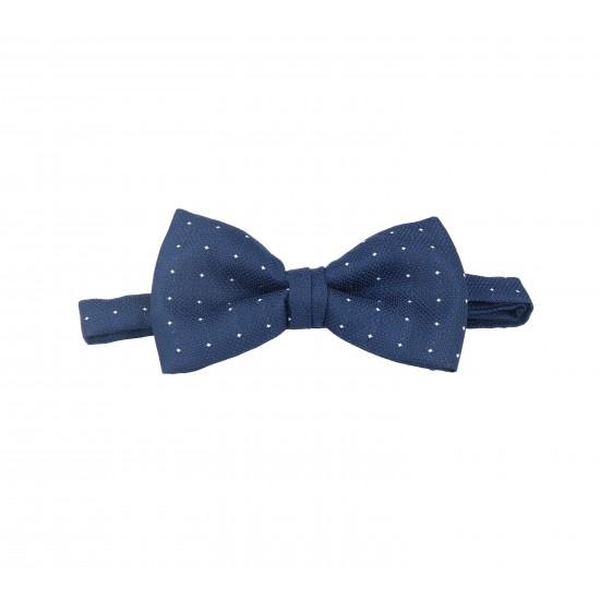 pajarita azul marino cambridge