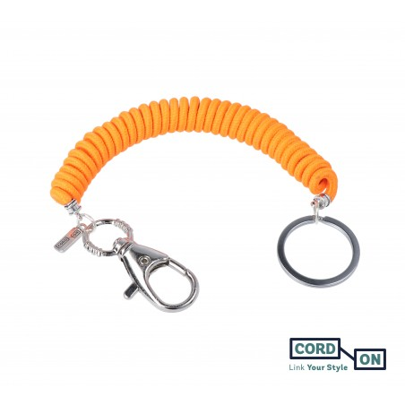 llavero elastico liaflex calabaza fluor