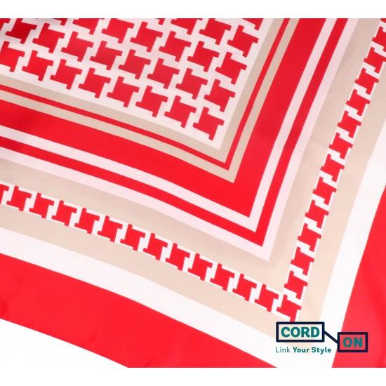 FOULARD FIONA Rojo