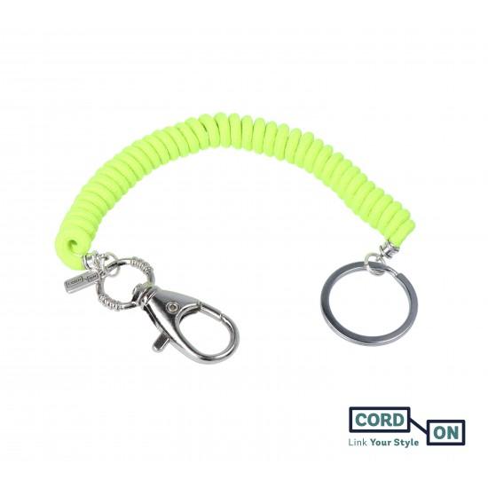llavero elastico liaflex amarillo fluor