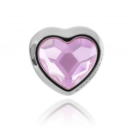 charm corazón rosaline